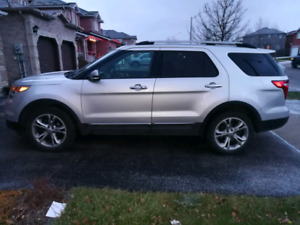 2013 Ford Explorer Limited AWD (Silver)