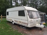 Genius 4/5 berth spacious caravan BARGAIN!!