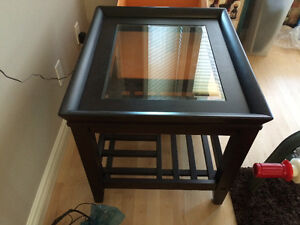 Coffee table/ 2 end tables