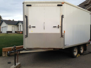 Enclosed Highboy Trailer