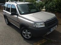 LEFT HAND DRIVE Land Rover Freelander TD4 2001 Automatic LHD