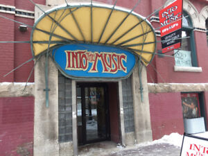 """Into The Music"" buys Vinyl LPs CDs Tapes Music DVDs/Since 1987"