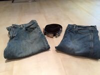 Jeans et ceintures pour Homme