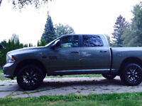 "2013 Ram 1500 Sport with 20"" Fuel Rims and Levelling kit"