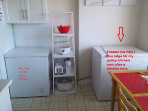 Chest Freezer in excellent condition open to offers