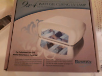 Lampe Uv  36 watts professionnel. Kit pour pose d'ongle