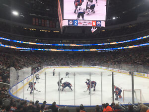 EDMONTON OILERS VS PITTSBURGH PENGUINS MARCH 10TH  LOWER BOWL!!!