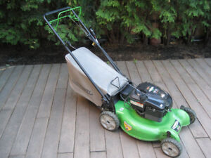 Lawnboy Gas Lawnmower W/ Grass Bag, Self Propelled + Key Start