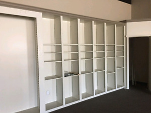 Shelving cabinets great for Garage