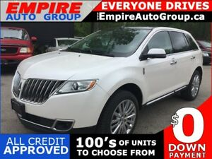 2013 LINCOLN MKX LUXURY * AWD * NAV * LEATHER * REAR CAM * PAN S