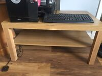 Light wooden coffee table