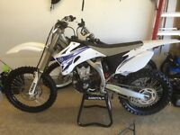 2009 YZ450F for trade to a YZ250F