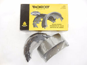 Jeep TJ Dodge Dakota 1987-2006 Brake Shoes Rear Monroe BX538R