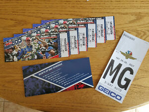 Indianapolis Indy 500 Tickets (6)