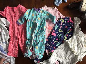 Lot de vêtements filles 3 à 18 mois