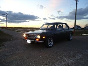 Rare restored Datsun 510 with safety