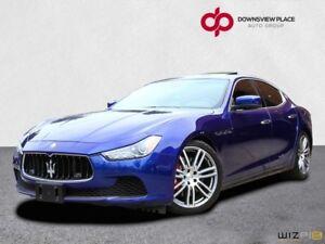 2014 Maserati Ghibli S Q4| NAVI| REVERSE CAMERA| FULLY LOADED