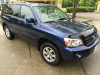 2006 Toyota Highlander Low kms Remote Start Finance OAC