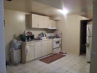 Two Bedroom basement apartment for rent from Oct 1st, 2015