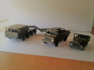 Russian Soviet Military transport/Trucks Vintage