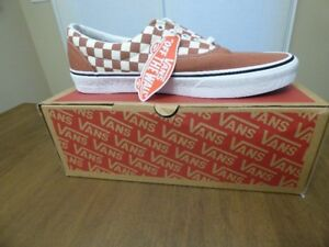 BNIB Vans Authentic Era 2 Tone Checkered Shoes - Size 12