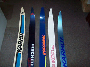 CROSS  COUNTRY  SKIS  --  2  PAIRS