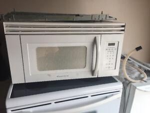 Microwave Hood fan