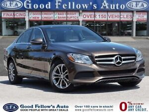 2016 Mercedes Benz C 300 C300W4M, PANORAMIC ROOF, NAVIGATION, PO