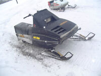 Snowmobile for parts or as is