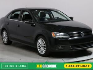 2012 Volkswagen Jetta TDI Highline A/C GR ELECT TOIT OUVRANT CUI