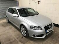 Audi A3 2.0 TDI S Line 170 BHP 1 Female Keeper, Full Audi History, Leather, 6 Speed 3 Month Warranty