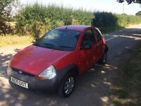 FORD KA 1.3, SUPETB CONDITION, 12 MONTHS MOT, LOW MILEAGE