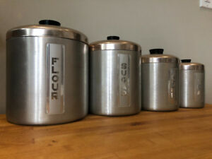 Vintage Storage Tins  - Pantry - Coffee, Tea, Sugar