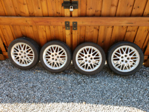 205 45 R16 rims and tires 5 Bolt . 2002 Dodge Neon RT not SRT.