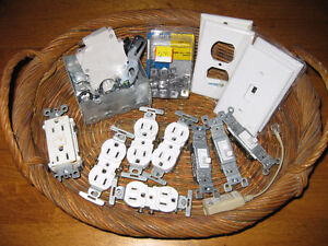 Outlets, Covers, Light Switches, etc. Lot F/S
