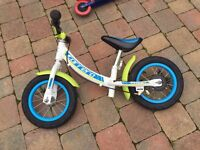 Childs balance bike hardly used