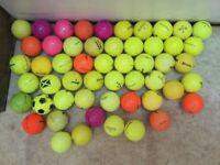 Coloured Golf Balls (used)
