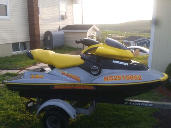 Used 2002 Bombardier seadoo xp