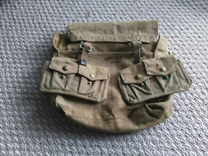 WW2 British matching Small pack and ammo pouches