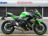 2017 67 Plate Kawasaki Ninja 650 KRT colour scheme 9472 miles