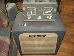 1950s tube head and leslie organ speaker