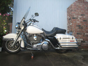 2008 H-D Road King 100 yr anniversery Police Special
