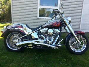 CVO Custom Screaming Eagle Fatboy