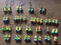 Minion key rings lots different available (Free Postage)