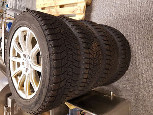 Mercedes ML350 Winter Wheels and Tires Kitchener / Waterloo Kitchener Area image 2