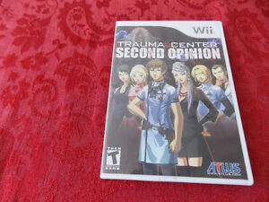 wii game Trauma Center Second Opinion