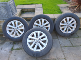 VW Transporter T6 wheels and tyres