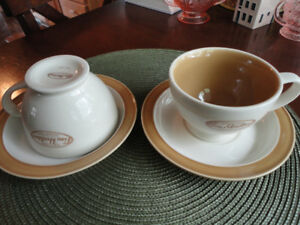 Tim Horton's Cup and Saucer Sets