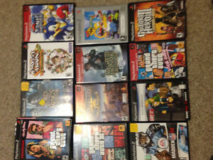 Ps2, lots of games, controllers and memory card!