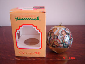 1982 Hummel Christmas Ornament - New - Excellent Condition!